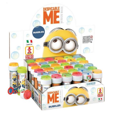 36 x Despicable Me Minions - Puzzle Maze Tub Bubbles 60ml Wholesale Bulk Buy